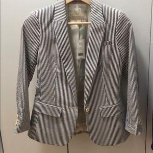 Banana Republic Striped Blazer (00P) NWT